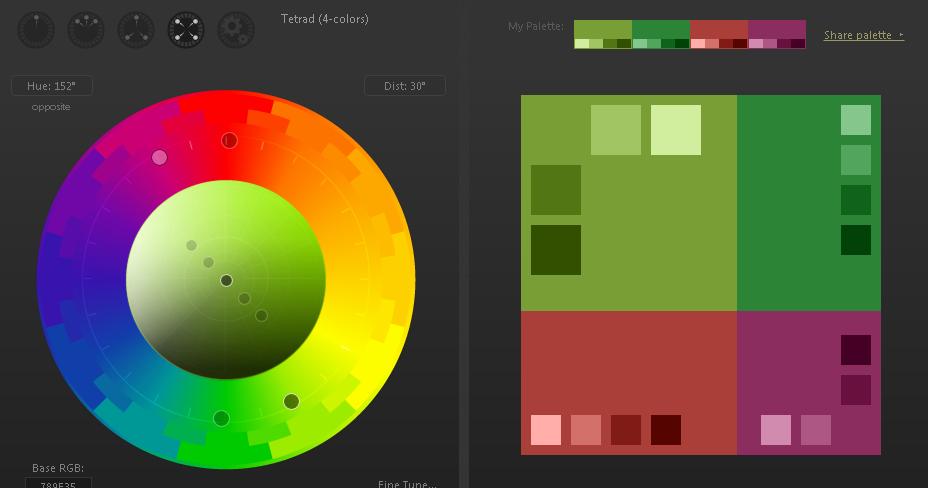 tips mudah menentukan perpaduan warna dalam dunia