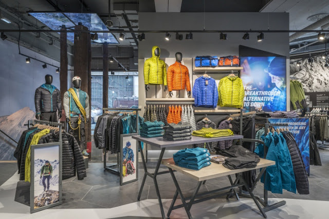 Green Pear Diaries, interiorismo, retail, flagship store, The North Face, Londres, Regent Street
