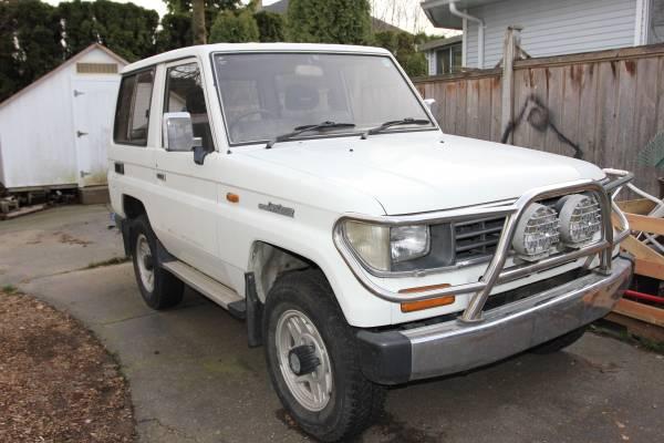 1993 Toyota Land Cruiser Prado SWB