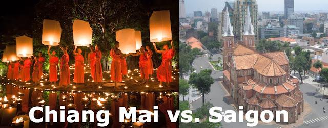 chiang mai vs saigon