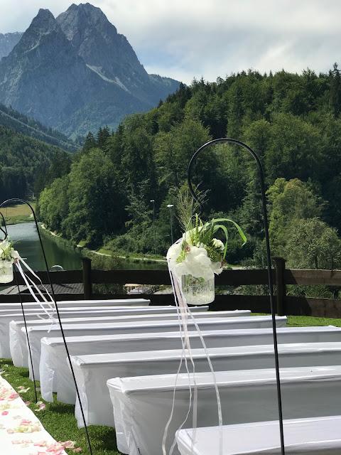 Berghochzeit freie Trauung, 4 Hochzeiten und eine Traumreise 2.0 im Riessersee Hotel Garmisch-Partenkirchen, Traumlocation am See in den Bergen, 2017