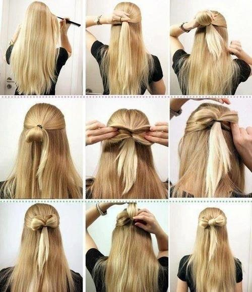 Hair Tutorial The Low Bun: Beautifully Reckless: How To Make A Bow Out Of Your Hair