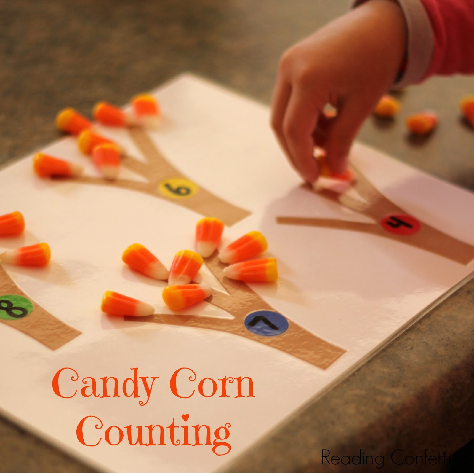 Candy Corn Counting And Math Reading Confetti