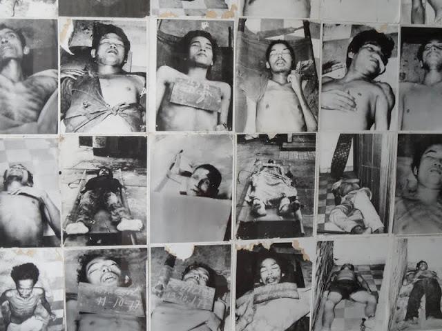 Visitar os testemunhos dos KHMERS VERMELHOS , os testemunhos de morte na prisão S21 e em Choeung Ek | Cambodja