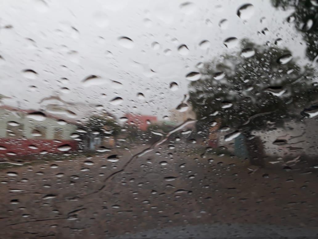 chuvas do mês abaixo do esperando