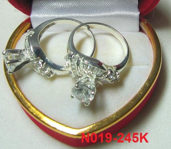 TrangSuc.top - Nhẫn đính đá trắng cao cấp MSN019 - 245.000 VNĐ - Liên hệ mua hàng: 0906 846366(Mr.Giang)