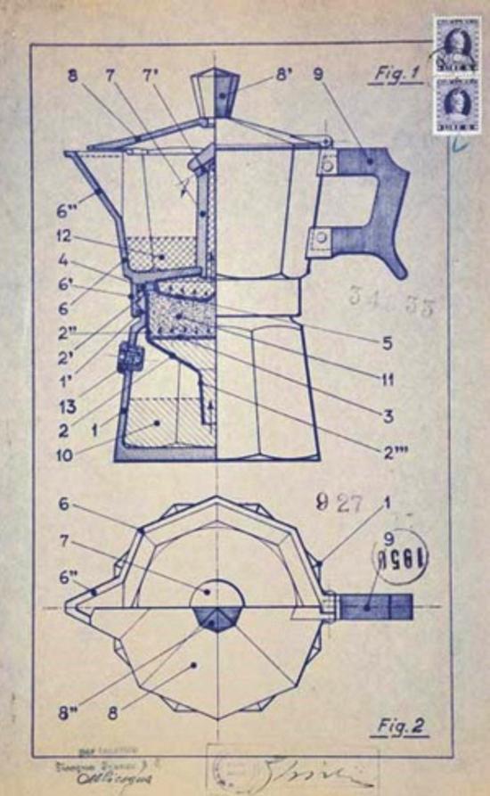Bialetti design 1950