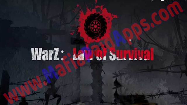WarZ Law of Survival v1.2.4 (Mega Mod) Apk for Android mafiapaidapps