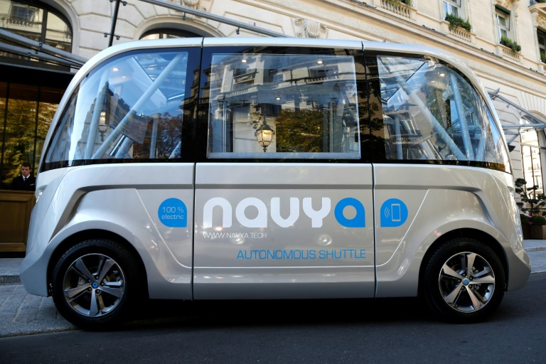 The Navya program will last a week, and was touted as the first time a fully autonomous, electric powered shuttle was left to its own devices on a public street in the US