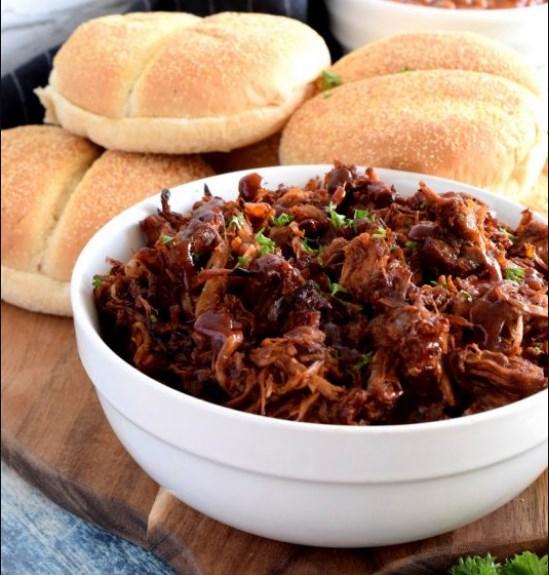 Vegetarian Pulled Pork #veganmeal #deliciousrecipe