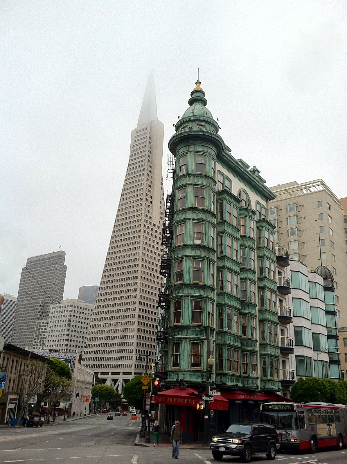 The Transamerica Pyramid San Francisco The World Of Deej