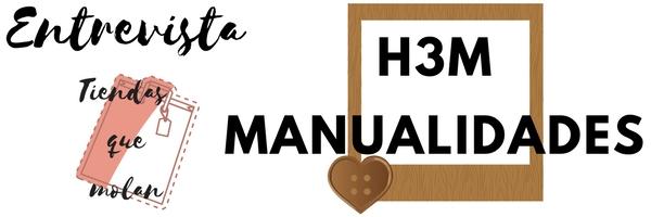 Cartel de Entrevista a H3M Manualidades tienda