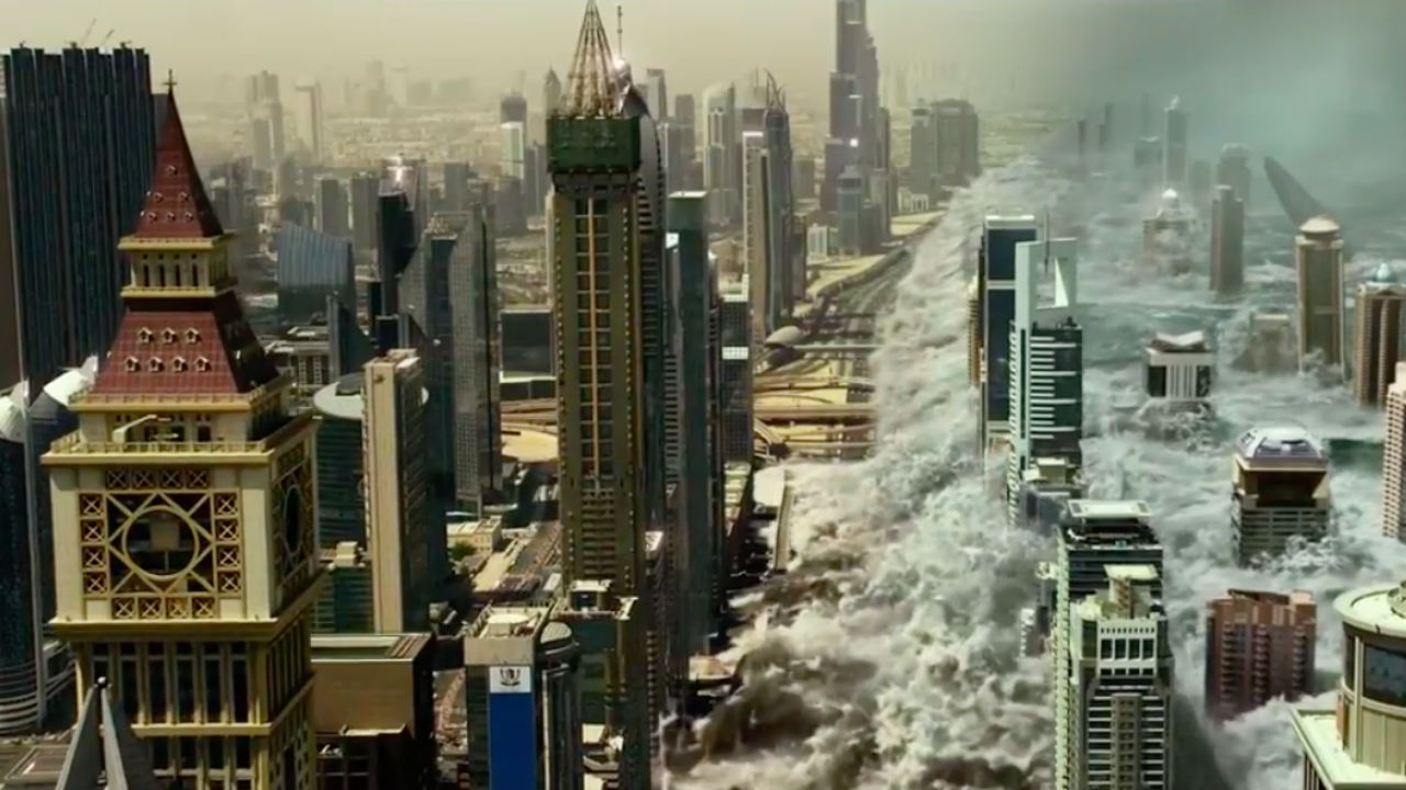 Review Geostorm 2017 From The Front Row