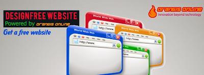 Get a free website