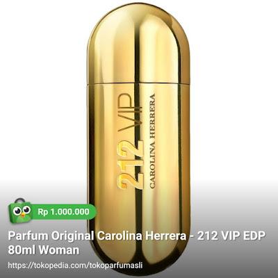 toko parfum asli parfum original carolina herrera vip 212 edp 80ml woman