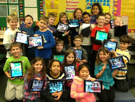 We're Using iPads in 2nd Grade!