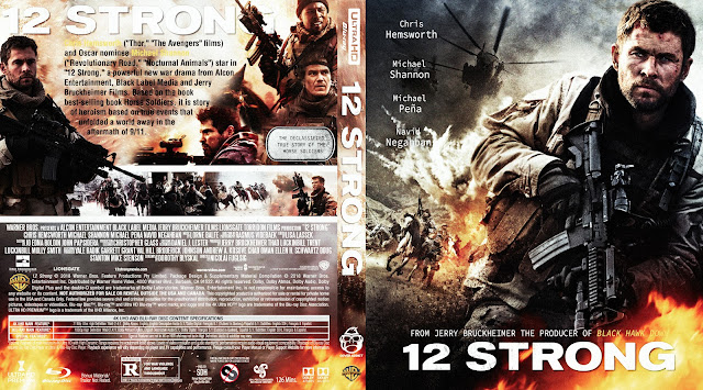 12 Strong 4k Bluray Cover