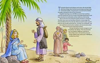 brave girls bible stories  sample page