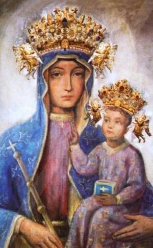 Obraz Matki Bożej Szczyrkowskiej w Szczyrku