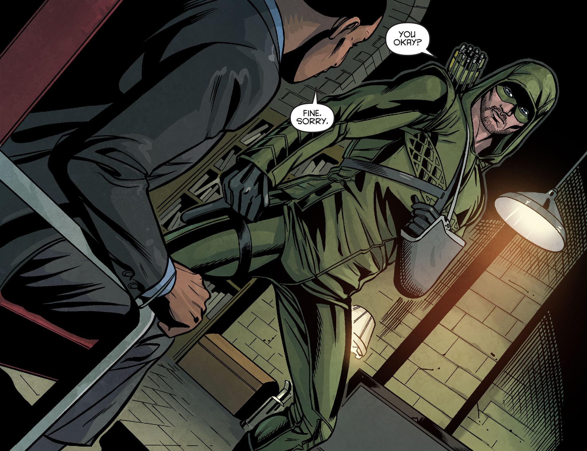 Read online Arrow: Season 2.5 [I] comic -  Issue #6 - 17