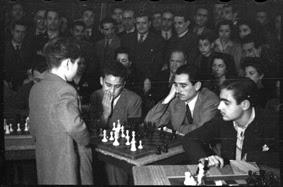 Simultáneas de Arturito Pomar en Lérida el 17 de abril de 1946 (6)