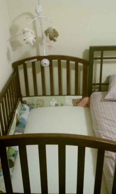 peaceful parenting turn your crib into a cosleeper. Black Bedroom Furniture Sets. Home Design Ideas