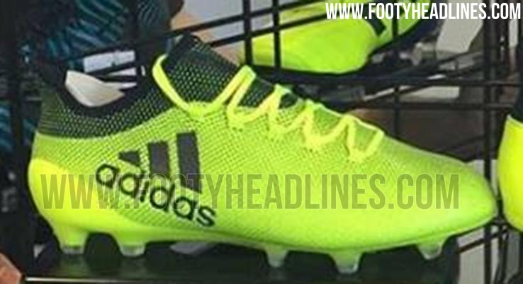 yellow next gen adidas x 17 2017 18 boots leaked footy. Black Bedroom Furniture Sets. Home Design Ideas