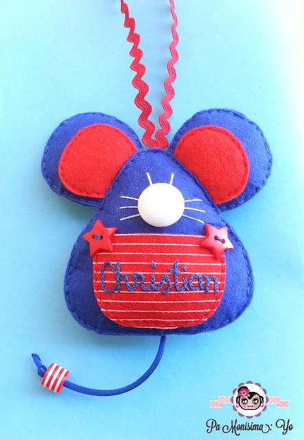ratón pérez guarda dientes fieltro monerias pamonisimayo