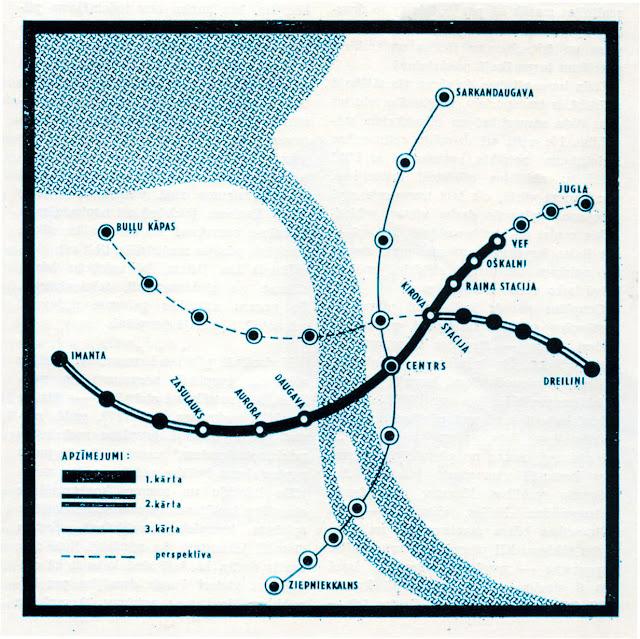 rīgas metro, capital r, riga, 2019, drawing