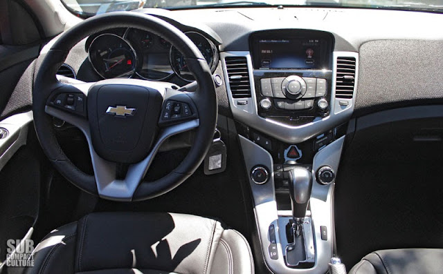 2014 Chevrolet Cruze Turbo Diesel interior