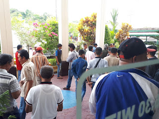 Sidang Sengketa Lahan Poktanel Bina Bahari Lawan PT. SKA Ricuh