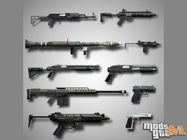 Pack de Armas do GTA 5
