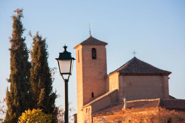 Albaicín, o antigo bairro mouro de Granada, na Andaluzia.