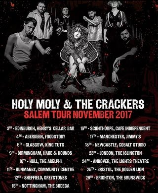 Holy Moly & The Crackers 2017