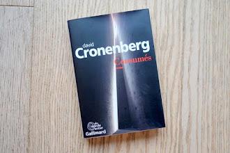 Lundi Librairie : Consumés - David Cronenberg