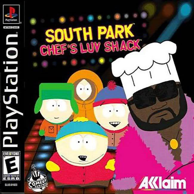 South Park - Chefs Luv Shack - PS1 - ISOs Download