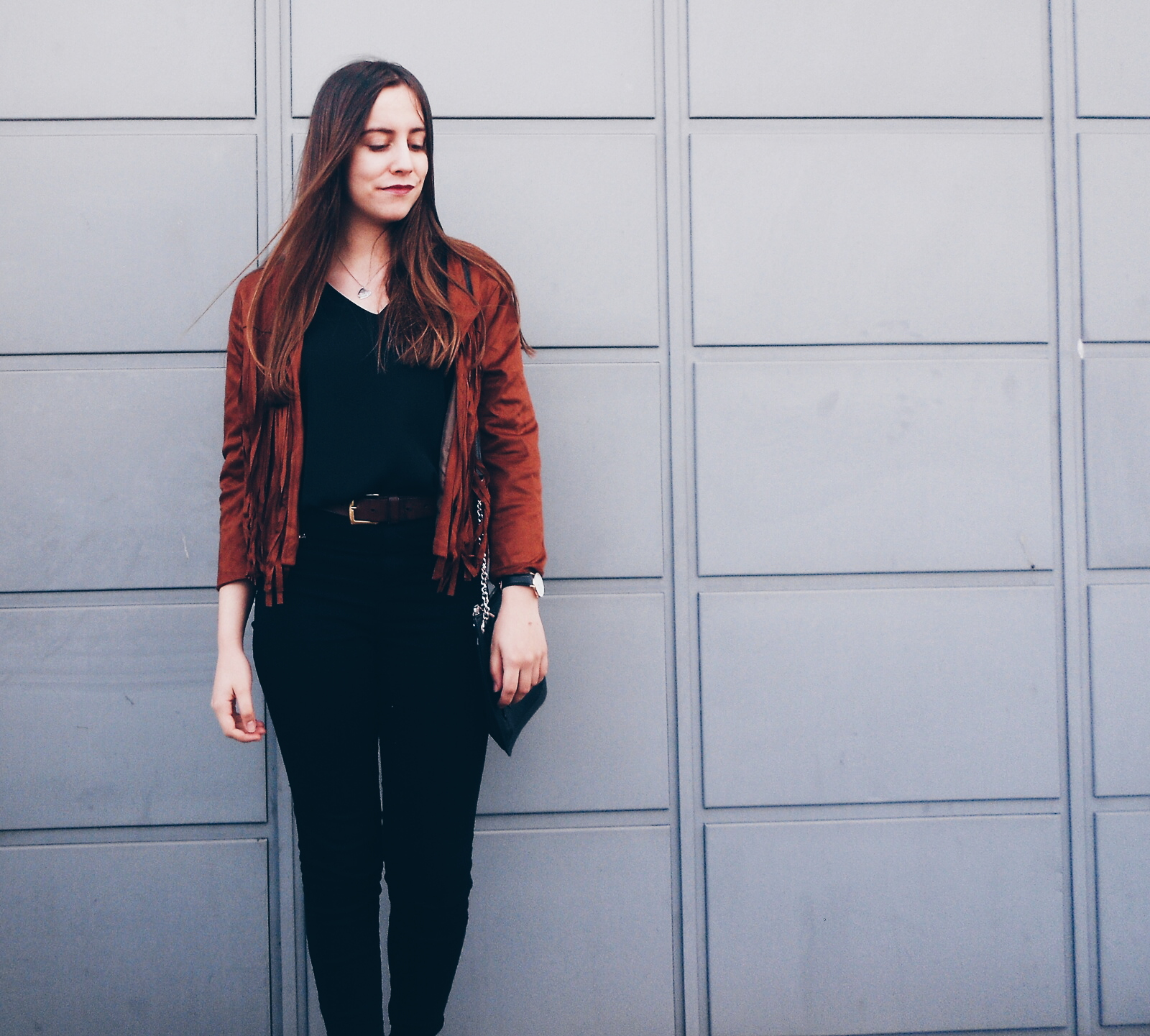 outfit | Fringed jacket from NewChic