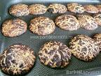 Fursecuri cu gris si cacao preparare reteta - in tava, proaspat scoase din cuptor