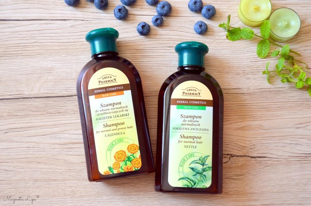 szampon do włosów green pharmacy