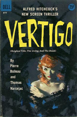 Robert Maguire - Vertigo, paperback cover, 1958