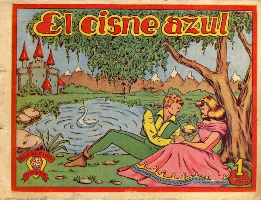 Colección Margarita nº 35 El Cisne Azul