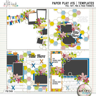 Paper Play15 by Akizo Designs