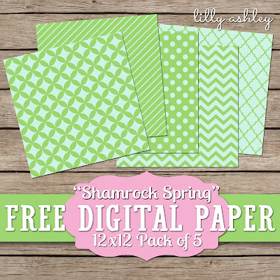 freebie digital paper packs