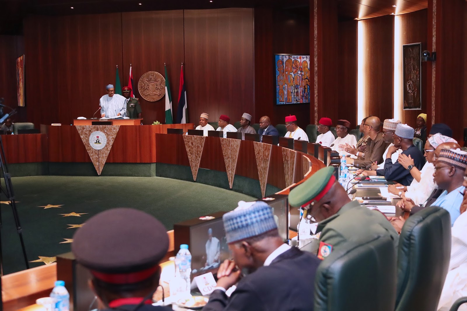 Image result for FEC assures of Security in Abuja