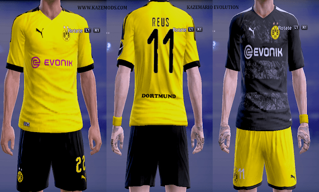 competitive price 39e4d 0c4ac PES 2013 Borussia Dortmund Leaked Kits 2019/20