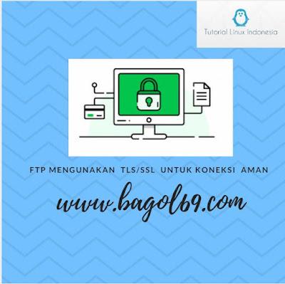FTP Menggunakan  TLS /SSL Untuk koneksi Aman