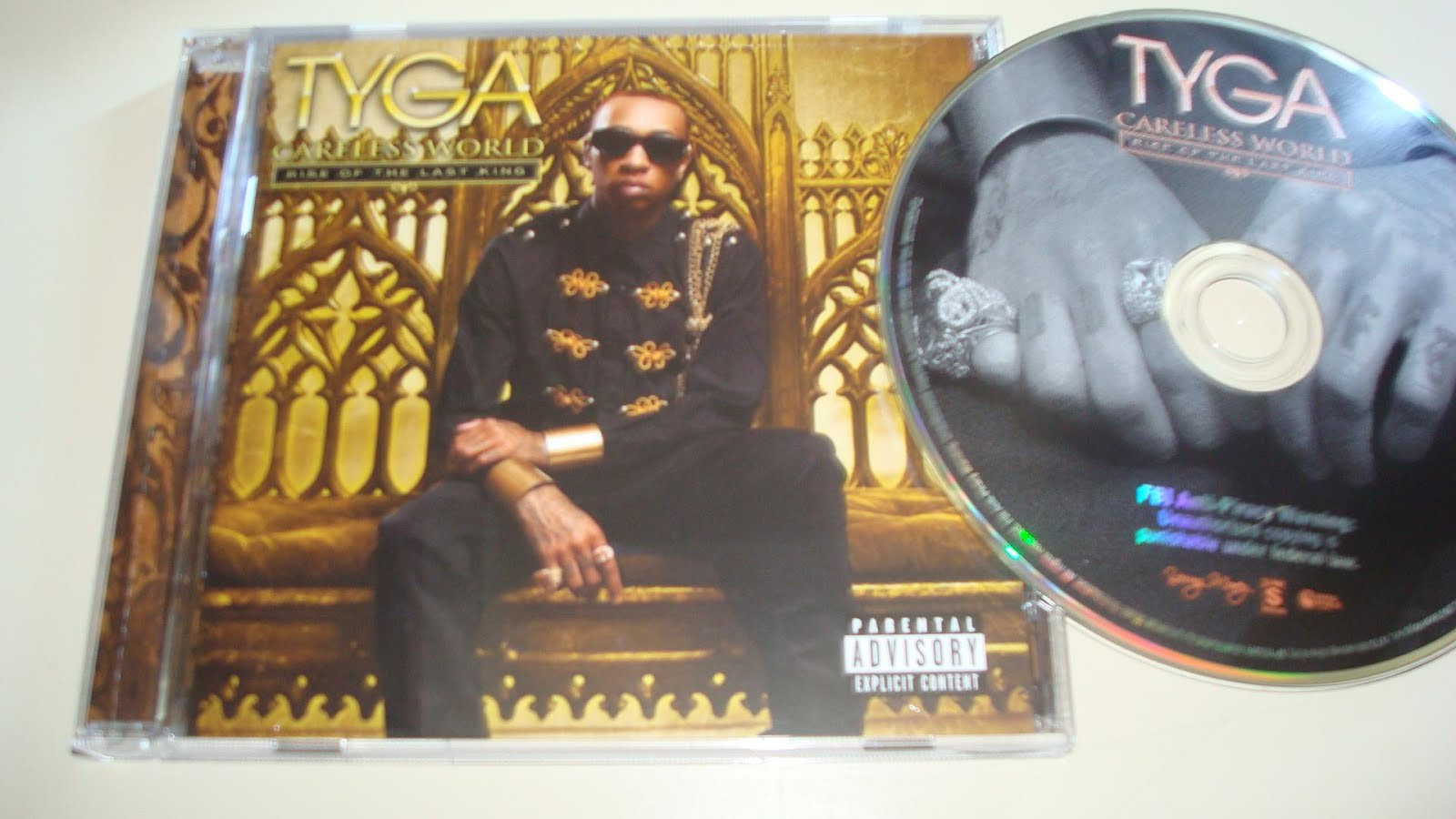 tyga careless world rise of the last king deluxe edition