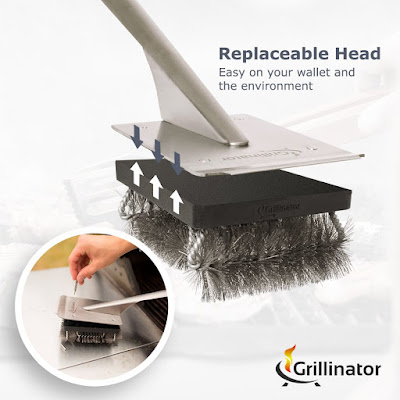 Grillinator Replaceable Head Design