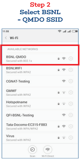 Frequently Asked Questions on BSNL Mobile Data Offload (MDO) Service and Steps to invoke WiFi Mobile Data Offloading (BSNL-QMDO) on BSNL Mobiles