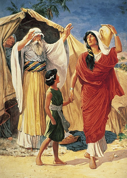 The illustration of the degrading of women in the story of sodom and gomorrah